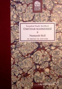 Istanbul Kadi Sicilleri, USKUDAR MAHKEMESI, 9, Numarali sicil, چاپ ترکیه, (MZ2338)