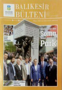 BALIKESIR BULTENI, چاپ ترکیه, (HZ1295P)