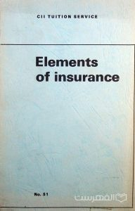 Elements of Insurance